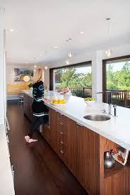 galley kitchens with island galley kitchen island kitchen traditional with wood floors