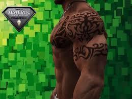 Tribal Torso - second marketplace tribal torso with armband