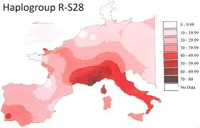 map r file isofrequency map of y dna haplogroup r s28 in europe png