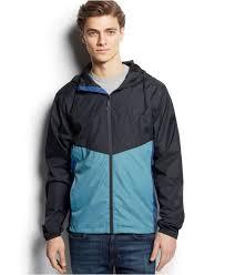 billabong new force windbreaker jacket in black for men lyst