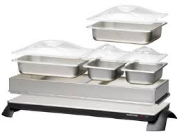 2 in 1 cordless buffet server u0026 warming tray toastess