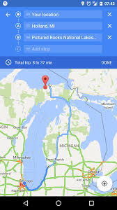 Michigan Google Maps by Google Maps For Android Is Finally Rolling Out Multi Waypoint
