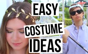 3 easy last minute halloween costume ideas u0026 makeup youtube