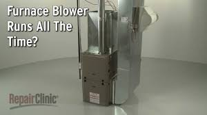 furnace blower runs all the time u2014 furnace troubleshooting youtube