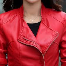 short leather blazer coat jacket for women custom made