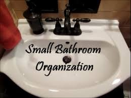 How To Organize Under Your Bathroom Sink - bathroom organization series countertop and under the sink youtube
