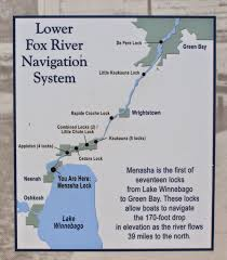 Lake Winnebago Map Wisconsin Historical Markers Wisconsin U0027s Maritime Trails