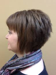 inverted bob with short hairstyle for round face hairstyles and