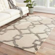 Area Rugs Beige Bronx Handmade Trellis Gray Beige Area Rug 3 6 X 5 Free With And