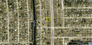 Map Of Cape Coral Florida by Residential Building Lot For Sale In Cape Coral Florida Land