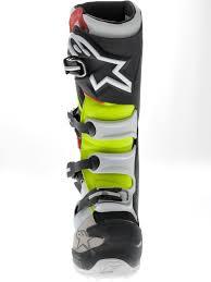 green motocross boots alpinestars black red yellow tech 7 mx boot ebay