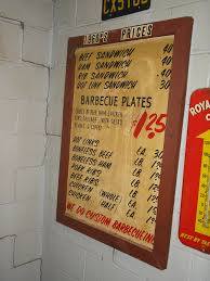 man up tales of texas bbq harold u0027s menu then and now