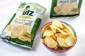 ripples chips bad for you utz ripples fried dill pickle potato chips