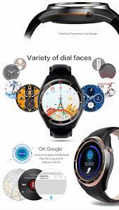 smart i3 watch phone amoled screen 1 3g 4 core gps wifi bluetooth