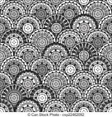 stock illustration of ornaments seamless in japanese