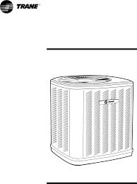 trane heat pump 2twb svu01a en user guide manualsonline com