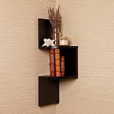Corner Bookcase Units by Decorative Bookshelf Case For Home Corner Ladder Tree U0026 Invisible
