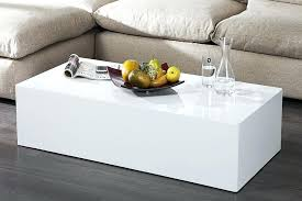 but bout de canapé bout de canape laque blanc rectangle laquac monobloc xl but t one co