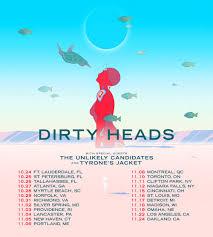dirty heads fall tour myrtle beach sc u2014 tyrone u0027s jacket