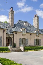 country french exteriors jack arnold le jardin slate roof asheville home pinterest