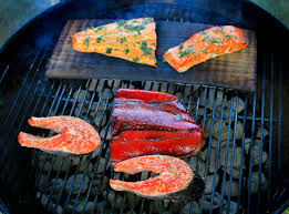 one dish rules after backyard salmon grill off the spokesman review