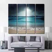 Living Room Art Paintings Online Get Cheap Blue Art Work Aliexpress Com Alibaba Group