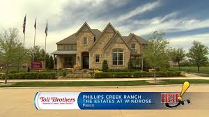 Luxury Homes In Frisco Tx by Toll Brothers At Phillips Creek Ranch Estates At Windrose In