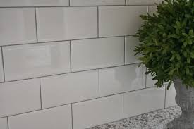 white tile bathroom gray grout amazing tile