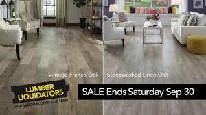 hardwood flooring clearance lumber liquidators yellow tag clearance sale tv commercial