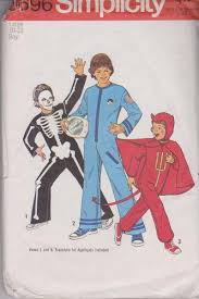 Simplicity Halloween Costumes Simplicity 6696 Boys Skeleton Astronaut Devil Halloween Costume