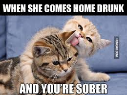 Drunk At Work Meme - when she comes home drunk and you re sober humoar com