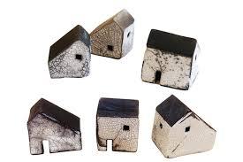 ceramic houses by rowena brown gifts for