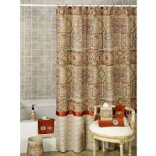 Walmart Brown Curtains Coffee Tables Horizontal Striped Shower Curtain Emerald Green