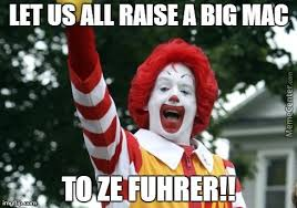 Ronald Meme - nazi ronald mcdonald by kurogami25 meme center