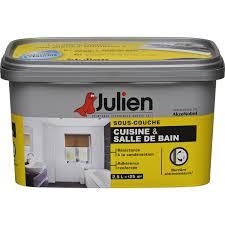 peinture cuisine et bain sous couche cuisine et bain julien 2 5 l leroy merlin peinture