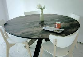 60 In Round Dining Table Round Distressed Dining Table U2013 Mitventures Co