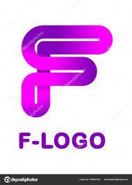 abstract letter f creative logo template vector illustration