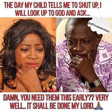 African Parents Meme - best memes of the day zumari