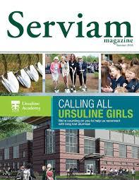 serviam magazine summer 2016 by ursuline communications issuu