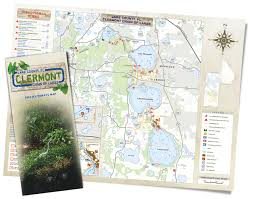 Tavares Florida Map by Press Release New Clermont Chain Of Lakes Map Is Cooperative