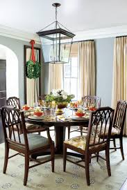 Round Dining Room Sets Friendly Atmosphere 100 Fresh Christmas Decorating Ideas Southern Living