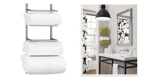 Bathroom Glass Shelves With Towel Bar Bristow Swing Arm Towel Bar Bathroom Images With Stunning