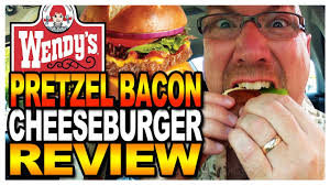 wendys thanksgiving hours wendy u0027s pretzel bacon cheeseburger review and drive thru test