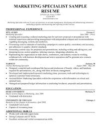 Strategic Planning Resume Examples by 7 Best Images Of Strategic Planning Marketing Resume Samples