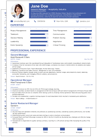 Standard Resume Templates User Dpc Title