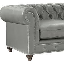 Manhattan Leather Chair Durango Sofa Rustic Grey Leather Tov Furniture Modern Manhattan