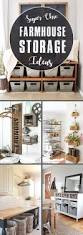20 super chic farmhouse storage ideas your home needs right now