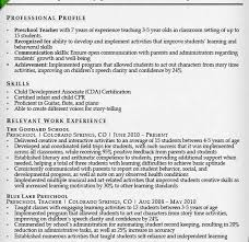 Sample Resume Of Teacher by Peachy Sample Resume For Teachers 6 Teacher Samples Writing Guide