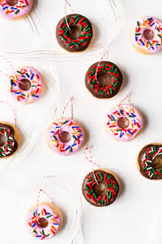 diy salt dough donut ornaments a beautiful mess