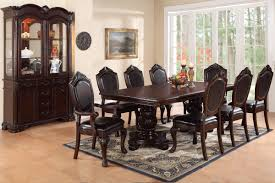 f2182 7pc traditional dining room set u2013 genesis furniture